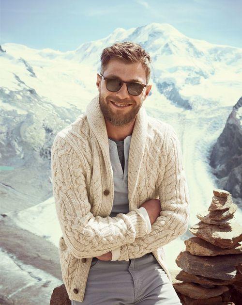 How to Wear a Beige Shawl Cardigan (32 looks) | Men's Fashion