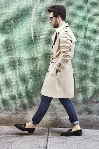 e7ed1b282f7 How to Wear a Beige Trenchcoat For Men (134 looks   outfits)