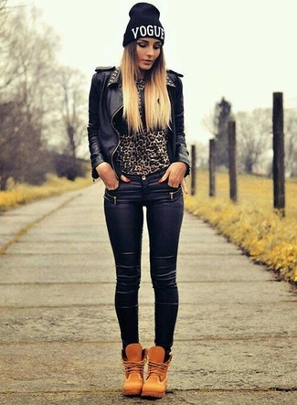 Vice Super Stretch High Waisted Skinny Jeans Coated Black