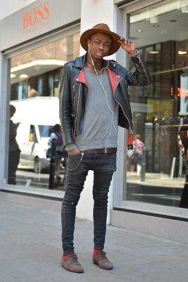 Which Jeans To Wear With a Black Leather Jacket | Men's Fashion