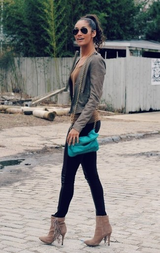 black leather high waist leggings