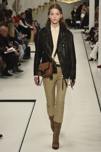 Marc New York By Nappa Leather Moto Jacket