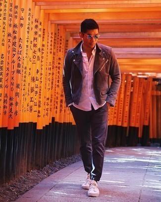 Linen Long Sleeve Shirt Pink