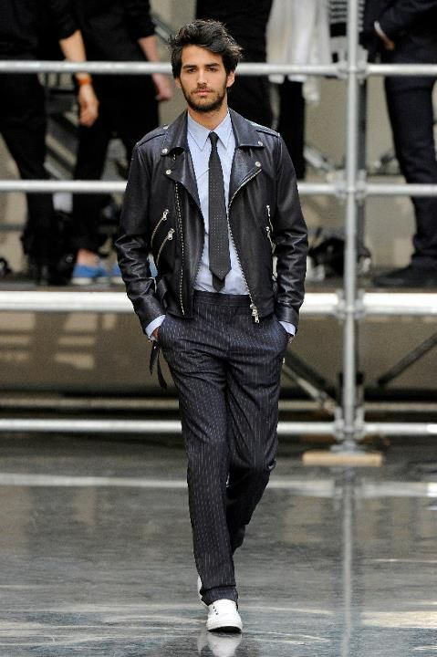 Can you wear a leather jacket with formal wear ...