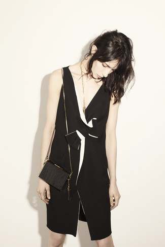 Asymmetrical Bicolor Dress