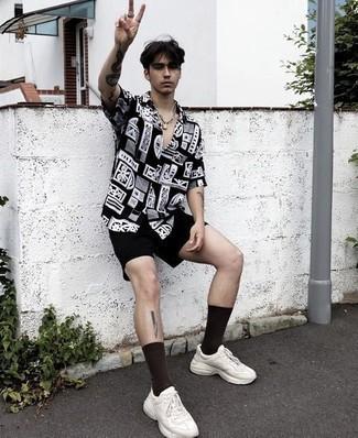 Helmut Lang Drop Crotch Cargo Shorts