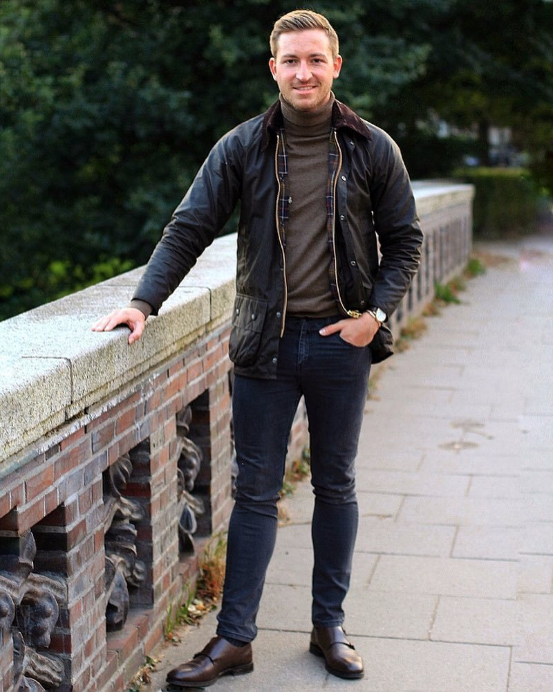 Brown Turtleneck | Men's Fashion