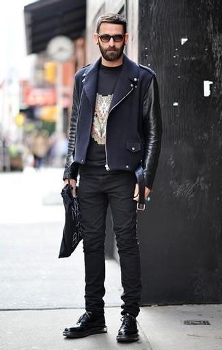 Ps Leather Biker Jacket
