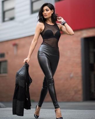 e035a2495f3d73 Charlotte Russe Fishnet Mesh Seamless Bodysuit, $16 | Charlotte ...