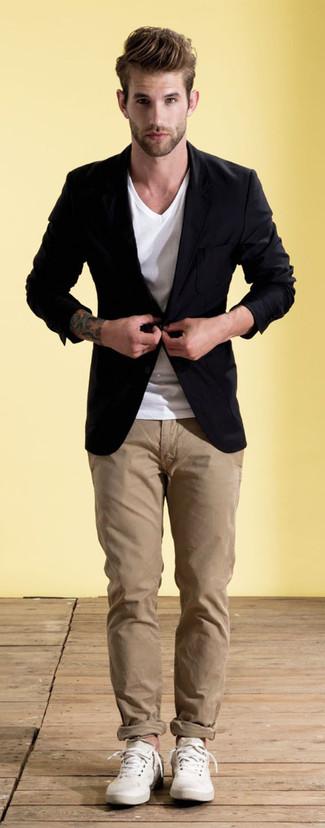 How to Wear a Black Blazer (246 looks) | Men's Fashion