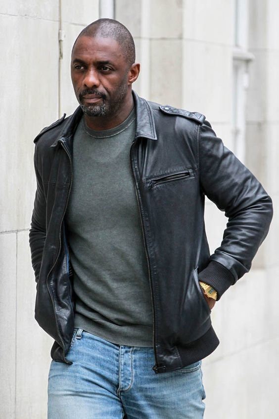 How to Wear a Black Leather Bomber Jacket (91 looks) | Men's Fashion