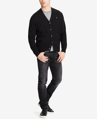 65cc839450 Vans Boys Barrington Stripe T Shirt