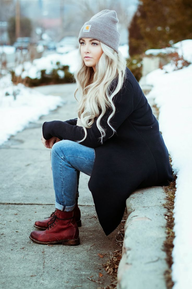Black Timberland Boots Outfit Women