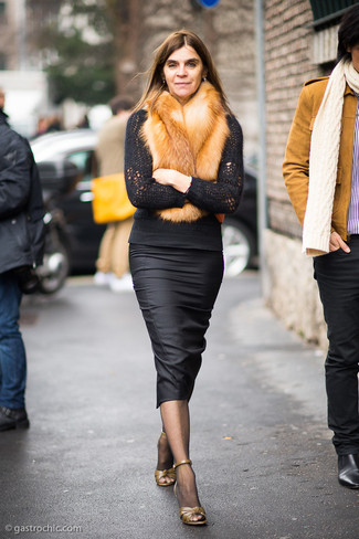 Fox Oversize Faux Fur Stole