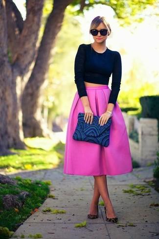 Pierre Pleated Skirt