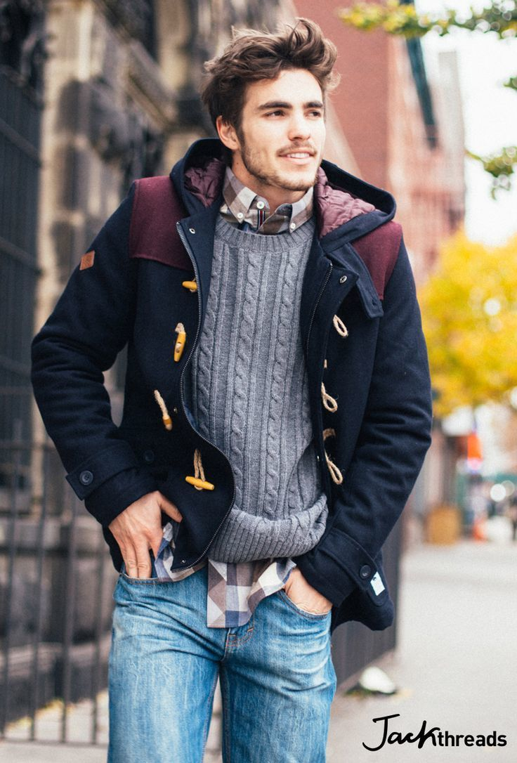 How to Wear a Duffle Coat (64 looks) | Men's Fashion