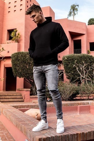 Grey Jeans Outfits For Men In Their Teens (20 ideas & outfits)   Lookastic