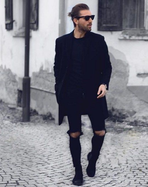 Black Chelsea Boots Mens Fashion Libaifoundation Org Image Fashion