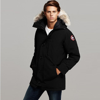 Black Jacobson Parka