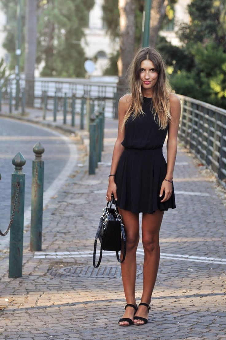 How to Wear Black and Gold Suede Flat Sandals (31 looks) - Women&-39-s ...