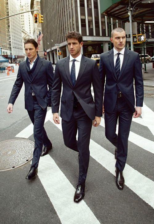 black suit black shoes - photo #42