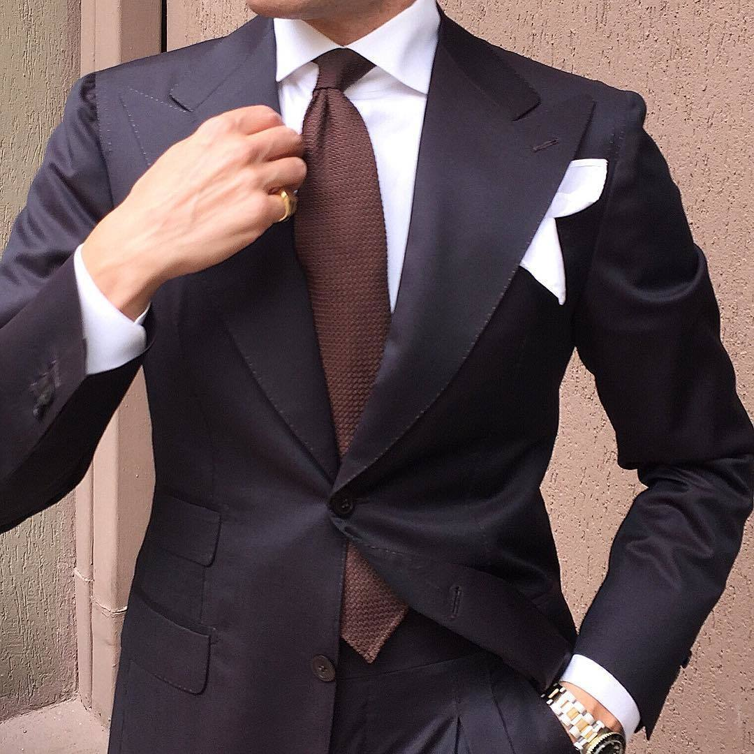 How to Wear a Brown Tie (193 looks) | Men's Fashion