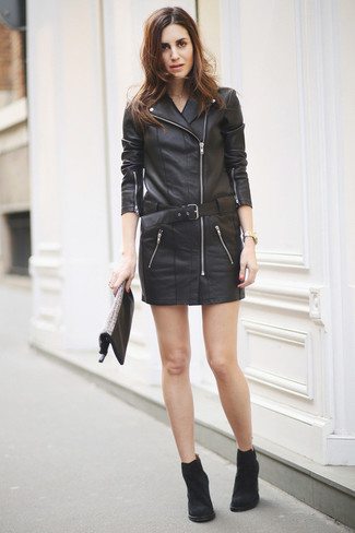black suede boots outfits - photo #21