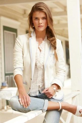 befd917ee47d06 Bernice Mandarin Collar Blouse Favorite Unfavorite. This combo of a Lafayette  148 New York ...