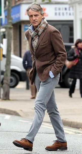 Blazer camisa de manga larga pantalon chino large 13660