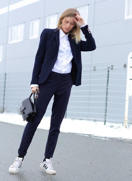 Blazer mujer con pantalon de vestir