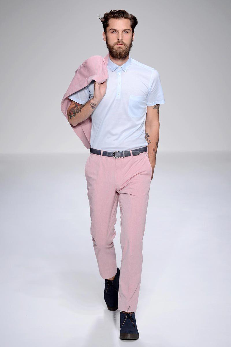 Camisa Rosado Pantalón Vestir Moda Look Celeste De Blazer Polo pTwAnPFqx