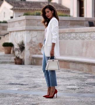 Combinar Looks De Cómo Blanco298 Para Un Blazer ModaModa WH29DIE
