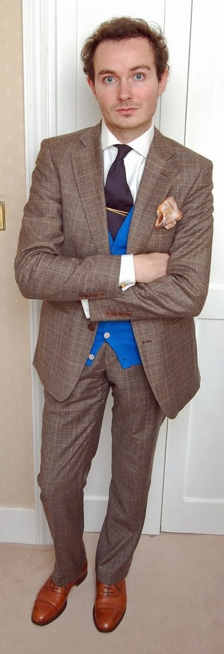 Cárdigan azul de Jil Sander