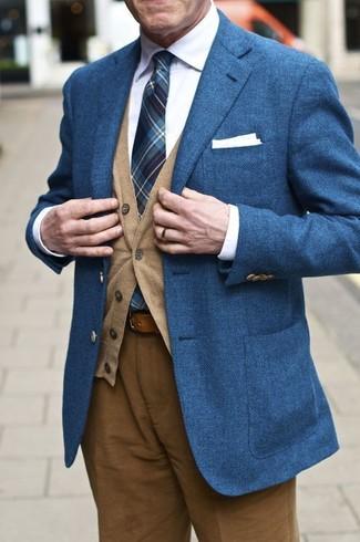 Willard Leather Belt Brown