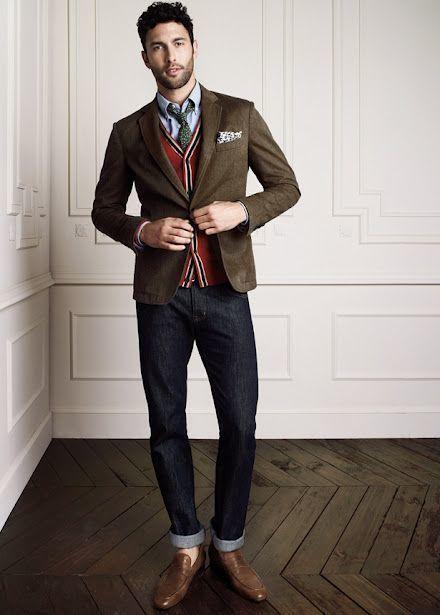 How to Wear a Dark Brown Blazer (325 looks) | Men's Fashion