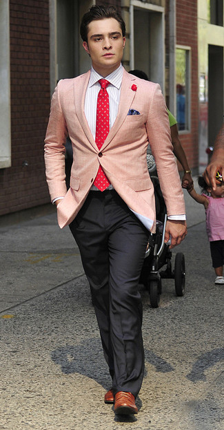 Blazer chemise de ville pantalon de costume large 993