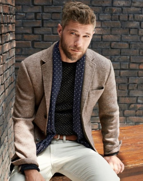 Tobacco Blazer | Men's Fashion