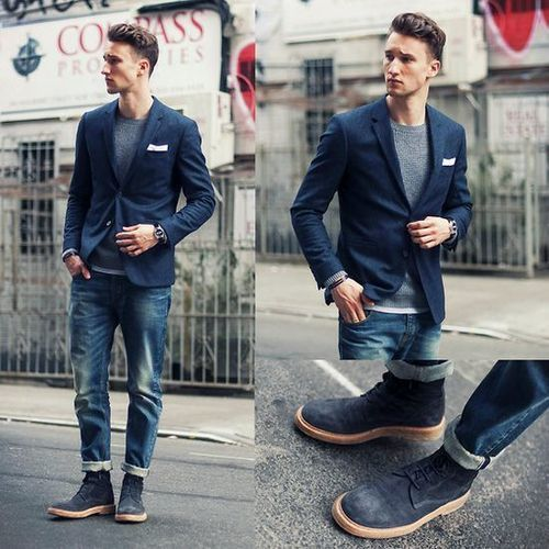 How to Wear Desert Boots (271 looks) | Men's Fashion