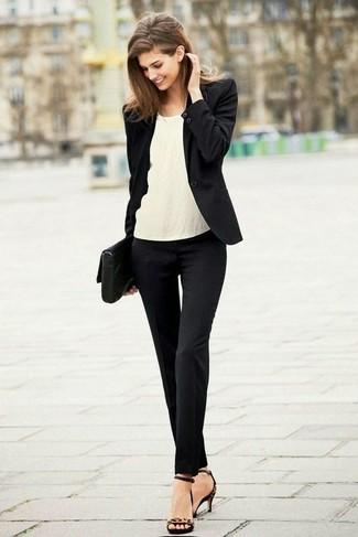 Dual Textured Raw Hem Skinny Jeans