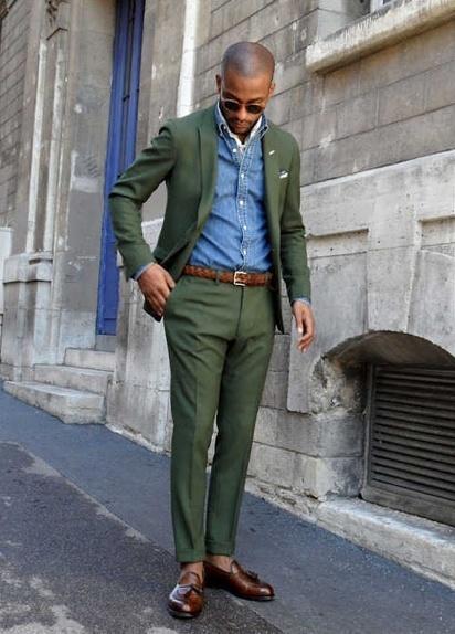 How to Wear a Dark Green Blazer (108 looks) | Men's Fashion