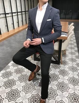 Men's Outfits 2020: Choose a white dress shirt for devastatingly dapper attire.