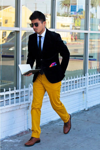 How to Wear Yellow Chinos (66 looks) | Men's Fashion