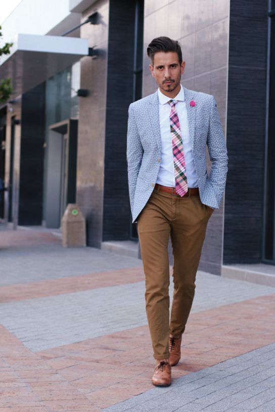 Hot Pink Tie | Men's Fashion