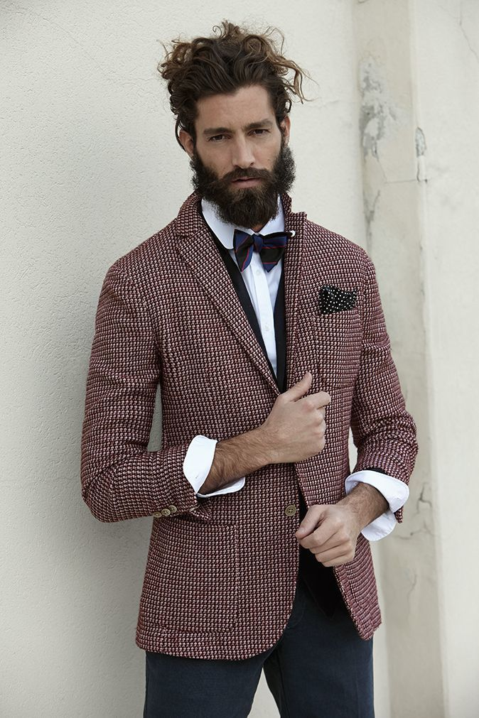 How to Wear a Burgundy Blazer (70 looks) | Men's Fashion
