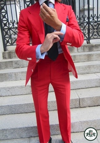 Red Dress Pants | Men's Fashion