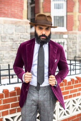 Violet Blazer | Men's Fashion