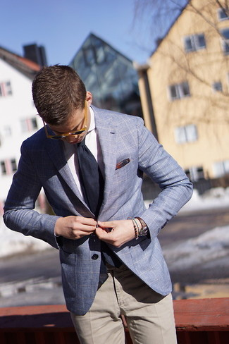 Dotted Bow Tie Plaid Pocket Square Set
