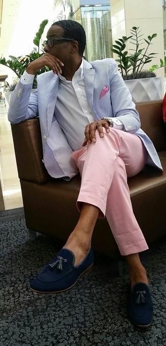 How To Wear A Seersucker Blazer For Men 14 Looks Outfits