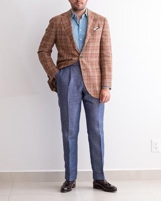 Side Stripe Evening Trousers