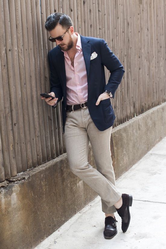 How to Wear a Pink Dress Shirt (54 looks) | Men's Fashion